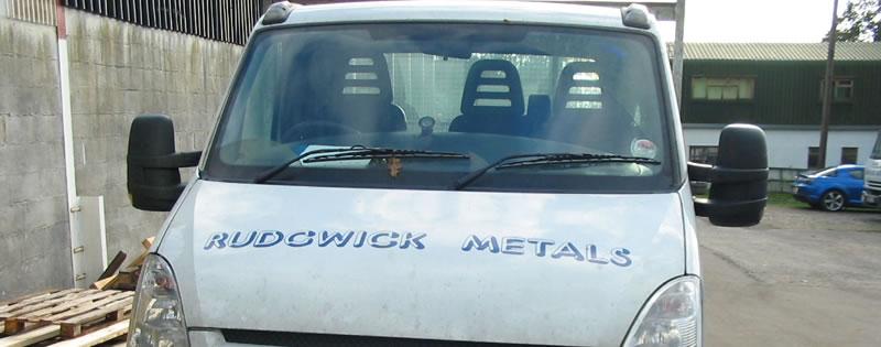 Metal Delivery Van