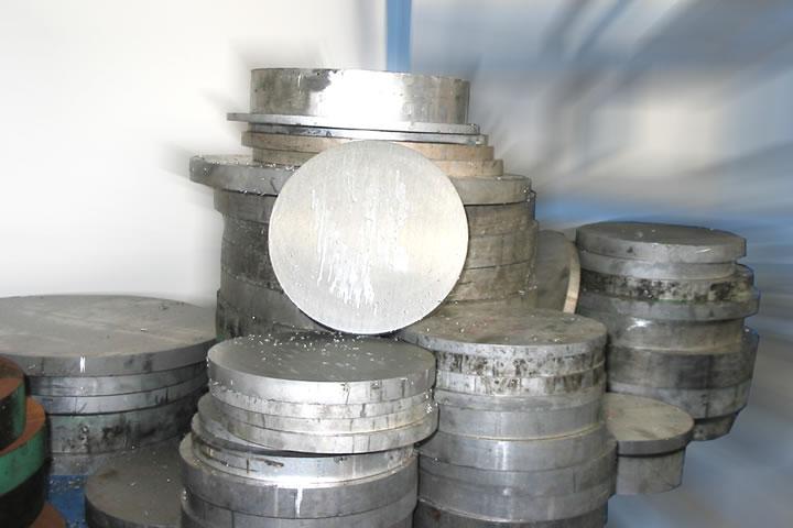 Sliced Aluminium Ingots